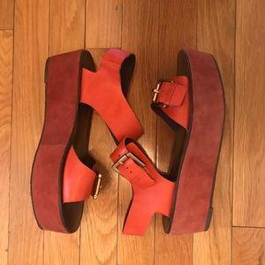 Platform sandals Pour la Victoire